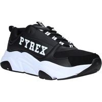Čevlji  Moški Nizke superge Pyrex PY020206 Črna