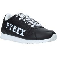 Čevlji  Ženske Nizke superge Pyrex PY020235 Črna