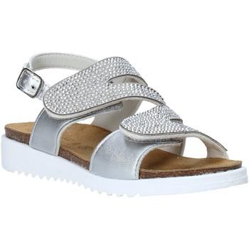Čevlji  Deklice Sandali & Odprti čevlji Grunland SB1559 Srebro