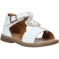 Čevlji  Deklice Sandali & Odprti čevlji Grunland PS0063 Biely