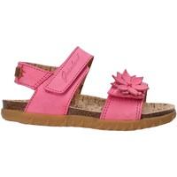 Čevlji  Deklice Sandali & Odprti čevlji Grunland SB1564 Roza