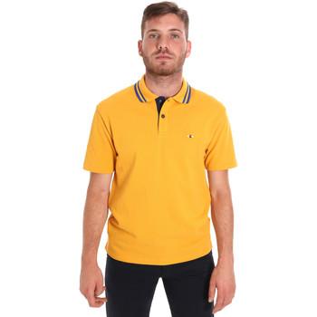 Oblačila Moški Polo majice kratki rokavi Les Copains 9U9021 Rumena