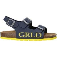 Čevlji  Otroci Sandali & Odprti čevlji Grunland SB1516 Modra