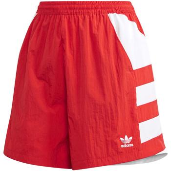 Oblačila Ženske Kratke hlače & Bermuda adidas Originals FM2637 Rdeča