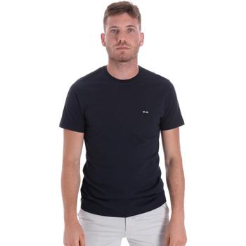 Oblačila Moški Majice s kratkimi rokavi Les Copains 9U9011 Modra