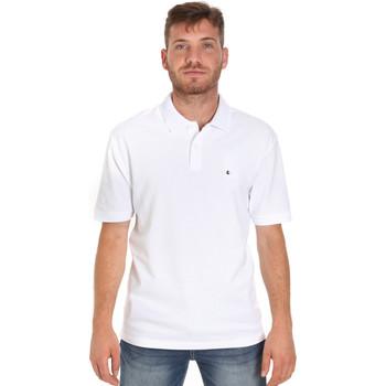 Oblačila Moški Polo majice kratki rokavi Les Copains 9U9015 Biely