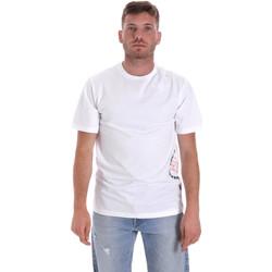 Oblačila Moški Majice s kratkimi rokavi Converse 10018872-A02 Biely