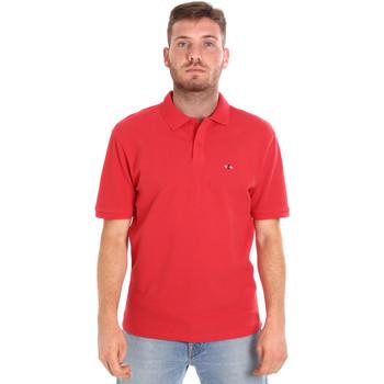 Oblačila Moški Polo majice kratki rokavi Les Copains 9U9015 Rdeča