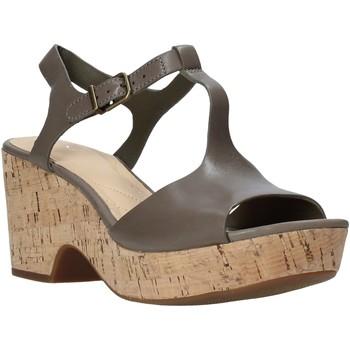 Čevlji  Ženske Sandali & Odprti čevlji Clarks 26142158 Zelena