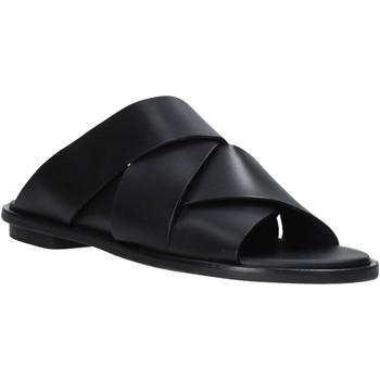 Čevlji  Ženske Natikači Clarks 26139434 Črna