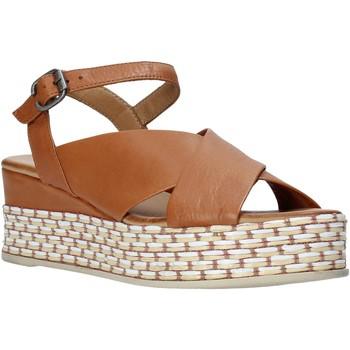 Čevlji  Ženske Sandali & Odprti čevlji Bueno Shoes Q5901 Rjav