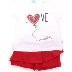 Oblačila Deklice Otroški kompleti Melby 20L7001 Rdeča