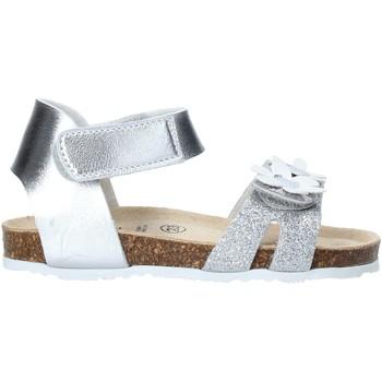 Čevlji  Deklice Sandali & Odprti čevlji Grunland SB1545 Srebro