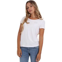 Oblačila Ženske Majice s kratkimi rokavi Ea7 Emporio Armani 8NTT64 TJ28Z Biely