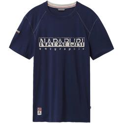Oblačila Moški Majice s kratkimi rokavi Napapijri NP0A4E3B Modra