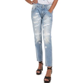 Oblačila Ženske Jeans Fornarina BER1I95D832DU Modra