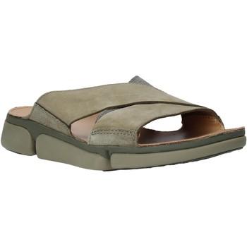 Čevlji  Moški Natikači Clarks 26139561 Zelena