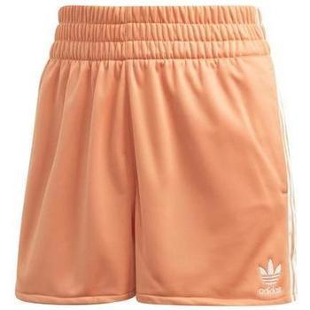 Oblačila Ženske Kratke hlače & Bermuda adidas Originals FM2606 Oranžna