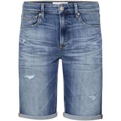 Oblačila Moški Kratke hlače & Bermuda Calvin Klein Jeans J30J315356 Modra