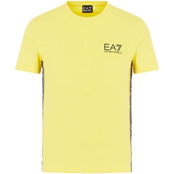 Oblačila Moški Majice s kratkimi rokavi Ea7 Emporio Armani 3HPT07 PJ03Z Rumena
