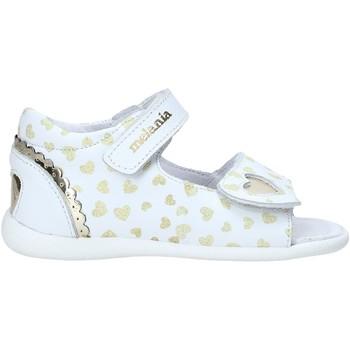 Čevlji  Deklice Sandali & Odprti čevlji Melania ME0820A0S.B Biely