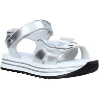Čevlji  Deklice Sandali & Odprti čevlji Melania ME4065D0S.A Srebro