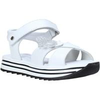 Čevlji  Deklice Sandali & Odprti čevlji Melania ME4062D0S.A Biely