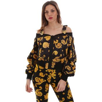 Oblačila Ženske Puloverji Versace C0HVB932S0774899 Črna