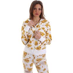 Oblačila Ženske Puloverji Versace B6HVB796SN500003 Biely