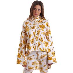 Oblačila Ženske Srajce & Bluze Versace B0HVB624S0771003 Biely