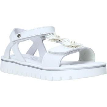 Čevlji  Deklice Sandali & Odprti čevlji Melania ME6009F0S.A Biely