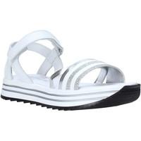 Čevlji  Deklice Sandali & Odprti čevlji Melania ME6099F0S.A Biely