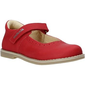 Čevlji  Deklice Balerinke Melania ME2139D0S.G Rdeča