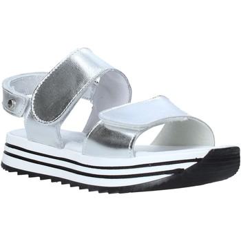 Čevlji  Deklice Sandali & Odprti čevlji Melania ME6109F0S.C Srebro