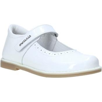 Čevlji  Deklice Balerinke Melania ME2139D0S.E Biely