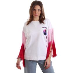 Oblačila Ženske Majice s kratkimi rokavi Versace B2HVB71511701003 Biely