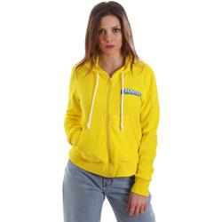 Oblačila Ženske Puloverji Versace B6HVB79715633630 Rumena
