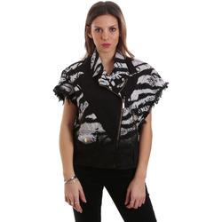 Oblačila Ženske Jakne Versace C0HVB92DHRC5X899 Črna
