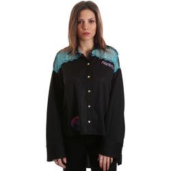 Oblačila Ženske Srajce & Bluze Versace B0HVB60310623899 Črna