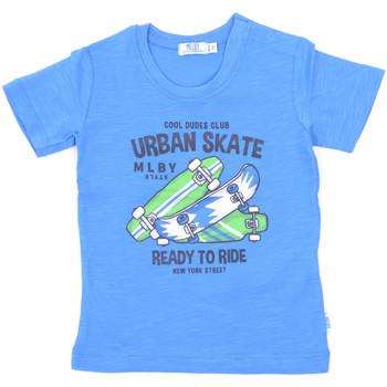 Oblačila Otroci Majice s kratkimi rokavi Melby 20E7370 Modra