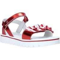 Čevlji  Deklice Sandali & Odprti čevlji Melania ME6044F0S.C Rdeča