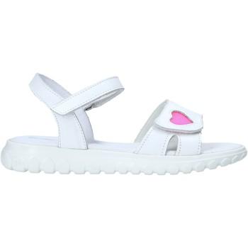 Čevlji  Deklice Sandali & Odprti čevlji Melania ME6070F0S.A Biely