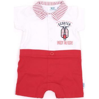 Oblačila Deklice Kombinezoni Melby 20P7370 Rdeča