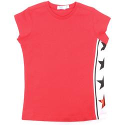 Oblačila Deklice Majice s kratkimi rokavi Melby 70E5645 Rdeča