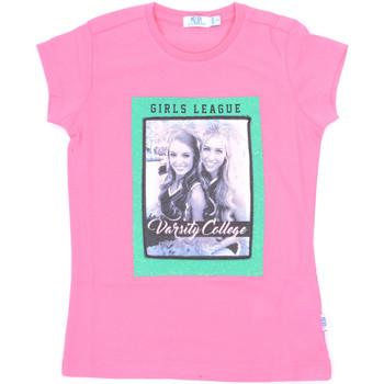 Oblačila Deklice Majice s kratkimi rokavi Melby 70E5645 Roza