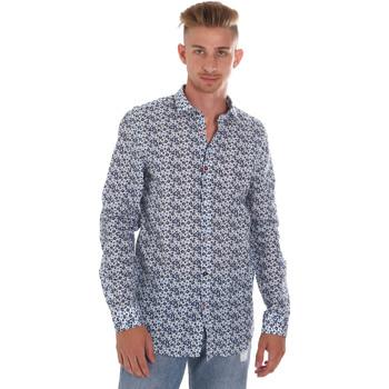 Oblačila Moški Srajce z dolgimi rokavi Sseinse CE508SS Modra