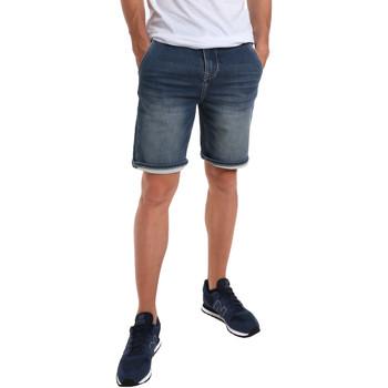Oblačila Moški Kratke hlače & Bermuda Gaudi 011BU26041 Modra
