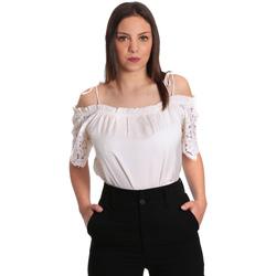 Oblačila Ženske Topi & Bluze Gaudi 811FD45011 Bež