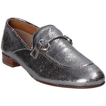 Čevlji  Ženske Mokasini Mally 6105 Siva