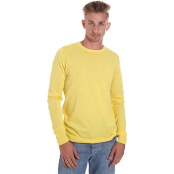 Oblačila Moški Puloverji Sseinse ME1504SS Rumena